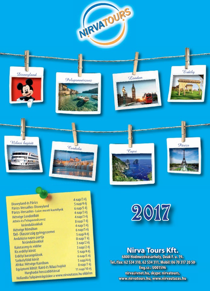 Nirva katalógus 2017